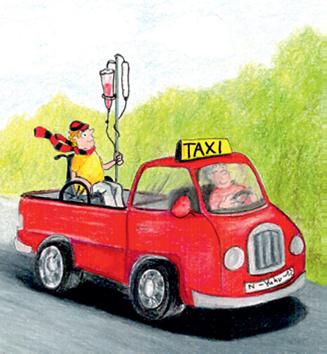Umsatzsteuerfreiheit von Personenbeförderungsleistungen eines Taxiunternehmens für eine Klinik
