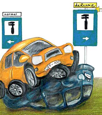Unfallschaden: Verweis auf günstigere Reparaturmöglichkeit in einer freien Fachwerkstatt